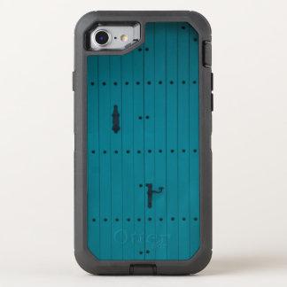 Blue Coastal Door from Costa Brava Spain OtterBox Defender iPhone 8/7 Case