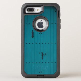 Blue Coastal Door from Costa Brava Spain OtterBox Defender iPhone 8 Plus/7 Plus Case