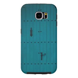 Blue Coastal Door from Costa Brava Spain Samsung Galaxy S6 Cases