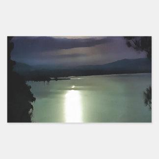 Blue Coastal Sunset