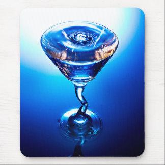 Blue Cocktail Mousepad