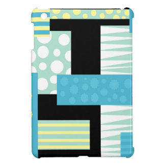 Blue collage iPad mini covers