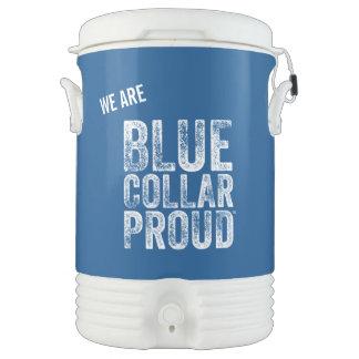 Blue Collar Proud 5 Gallon Igloo Water Cooler