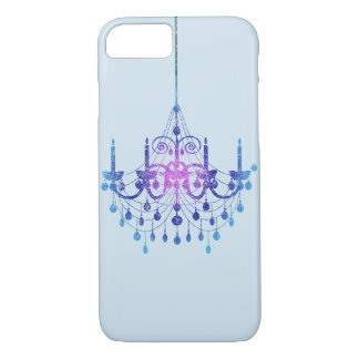 Blue Color Gradient Hanging Chandelier Case-Mate iPhone Case