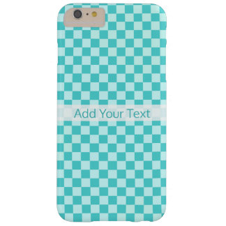 Blue Combination Classic Checkerboard by STaylor Barely There iPhone 6 Plus Case