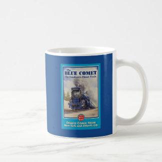 Blue Comet Poster Mug