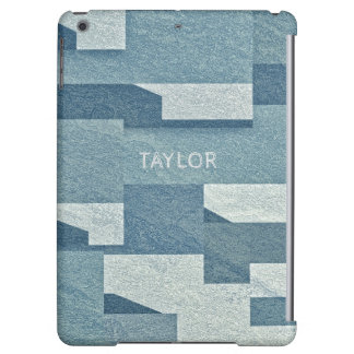 """""""Blue Concrete"""" custom name device cases Case For iPad Air"""