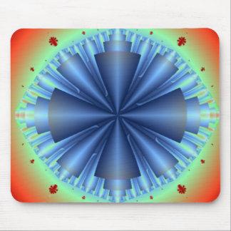 Blue Cones Infinity Mousepad