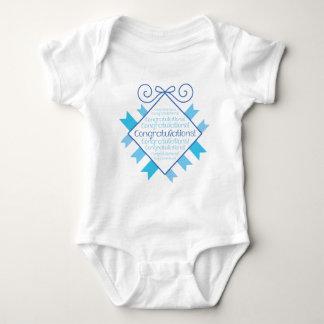 Blue Congratulations! T-shirt