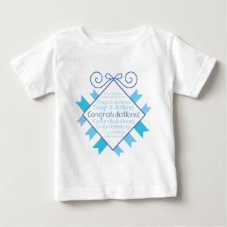 Blue Congratulations! Tshirt