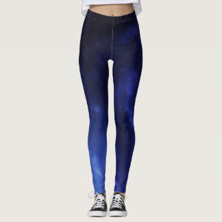 Blue Constellations Leggings