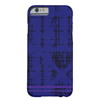 'Blue Construction' Patterned Barely There iPhone 6 Case