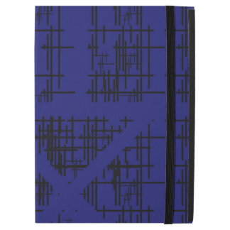 "'Blue Construction' Patterned iPad Pro 12.9"" Case"
