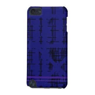'Blue Construction' Patterned iPod Touch 5G Case