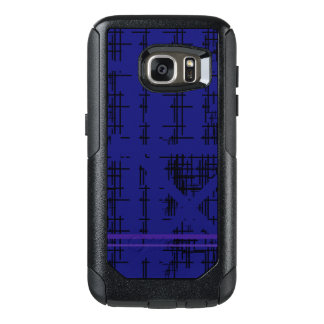 'Blue Construction' Patterned OtterBox Samsung Galaxy S7 Case