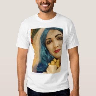 Blue Corpse Girl Smile Shirts