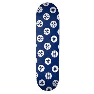 BLUE CORSAIR octagon cross Skateboards