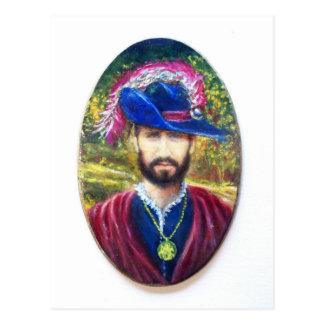 Blue Corsair of Tuscany Postcard