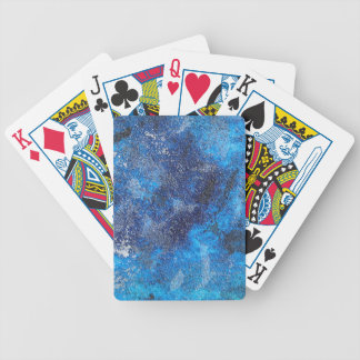 Blue Cosmos #1 Bicycle Playing Cards