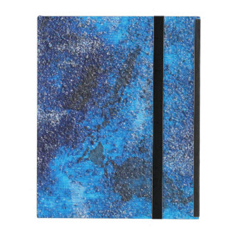 Blue Cosmos #1 iPad Folio Case