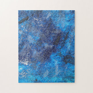 Blue Cosmos #1 Jigsaw Puzzle