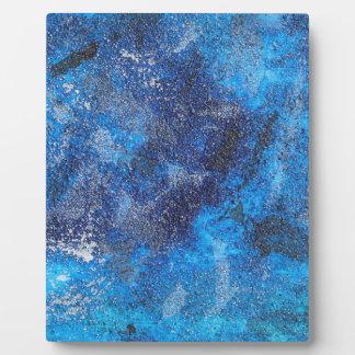 Blue Cosmos #1 Plaque