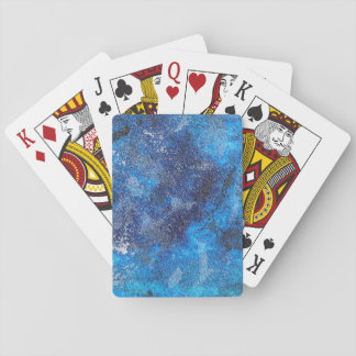 Blue Cosmos #1 Playing Cards