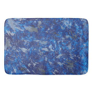 Blue Cosmos #2 Bath Mat