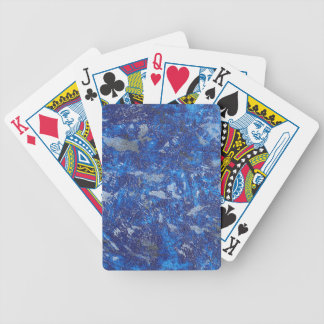 Blue Cosmos #2 Bicycle Playing Cards