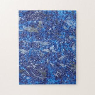 Blue Cosmos #2 Jigsaw Puzzle