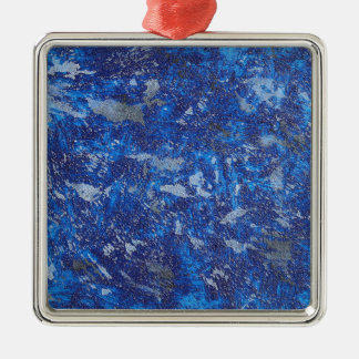 Blue Cosmos #2 Metal Ornament