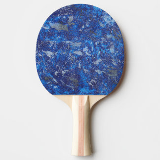 Blue Cosmos #2 Ping Pong Paddle
