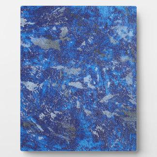 Blue Cosmos #2 Plaque