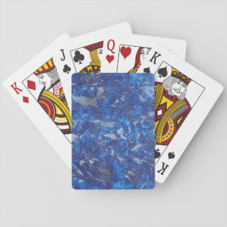 Blue Cosmos #2 Playing Cards