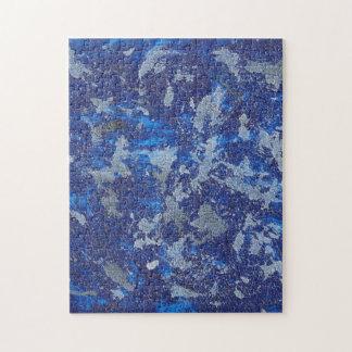 Blue Cosmos #3 Jigsaw Puzzle