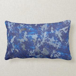 Blue Cosmos #3 Lumbar Pillow