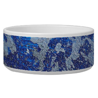Blue Cosmos #3 Pet Water Bowls