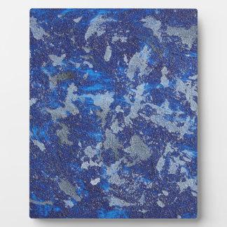 Blue Cosmos #3 Plaque