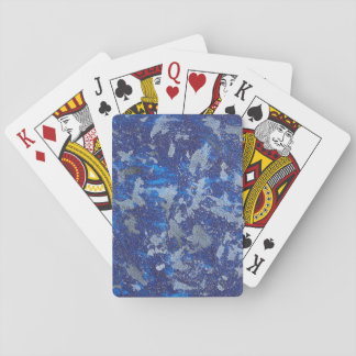 Blue Cosmos #3 Playing Cards