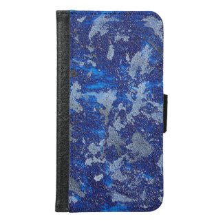 Blue Cosmos #3 Samsung Galaxy S6 Wallet Case