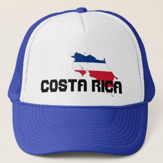 Blue Costa Rica Map Hat