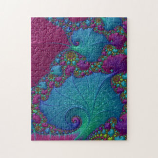 Blue Cotton Candy Jigsaw Puzzle