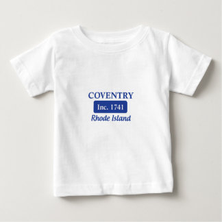 Blue Coventry Rhode Island Baby T-Shirt