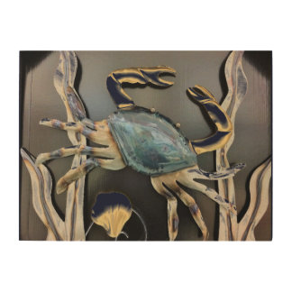 Blue Crab  Abstract Art