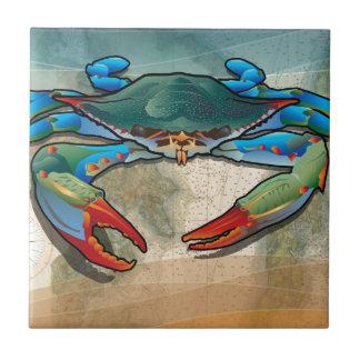 Blue Crab Ceramic Tiles