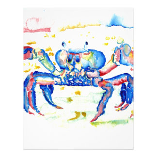 Blue Crab Letterhead