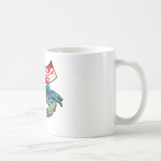 Blue Crab Maryland flag Coffee Mug