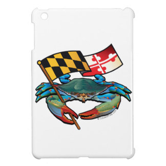 Blue Crab Maryland flag iPad Mini Covers