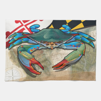 Blue Crab of Maryland Kitchen Towel