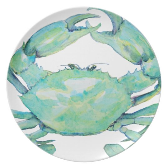Blue Crab Plate